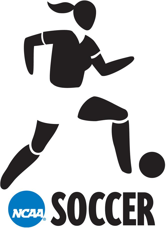 National Collegiate  Athletic Association Logo Misc Logo (2000-2015) - NCAA Woman Soccer player silhouette logo SportsLogos.Net