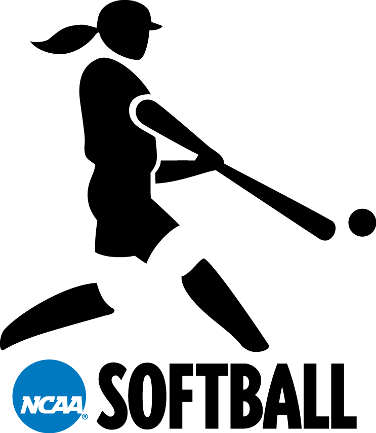 National Collegiate  Athletic Association Logo Misc Logo (2000-2015) - NCAA Woman Softball player silhouette logo SportsLogos.Net