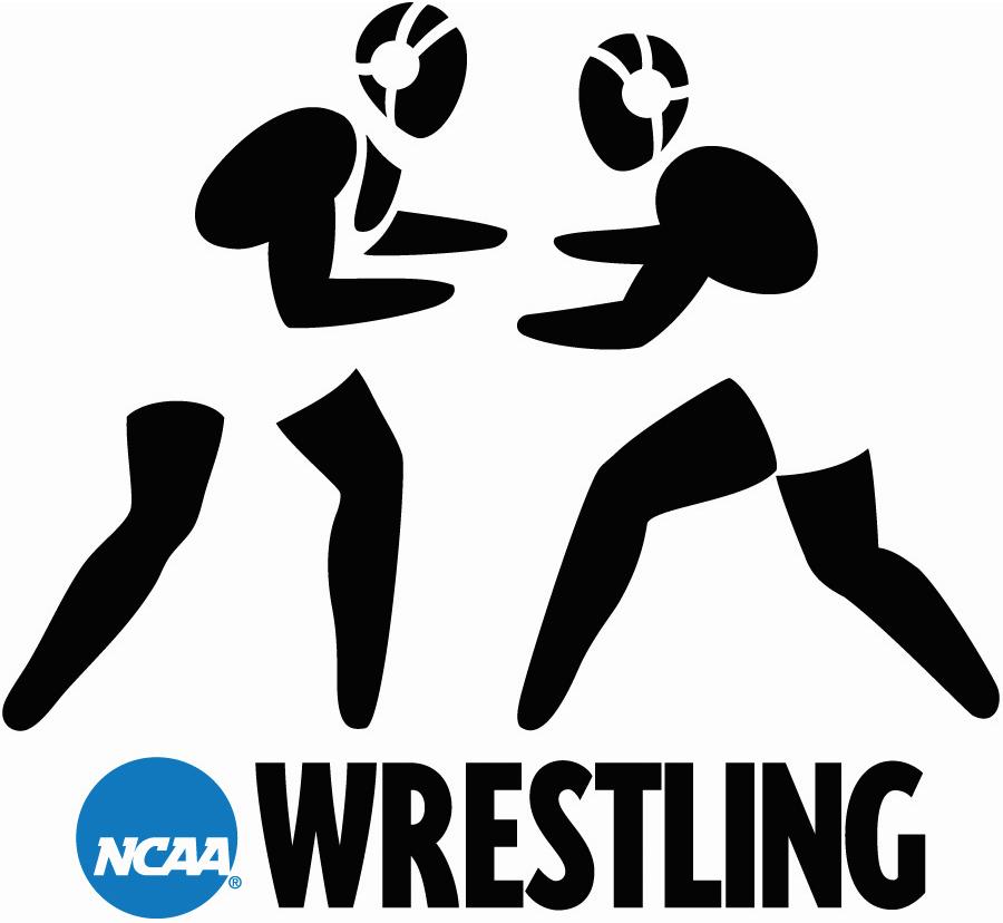 National Collegiate  Athletic Association Logo Misc Logo (2000-2015) - NCAA Wrestling/Wrestler silhouette logo SportsLogos.Net