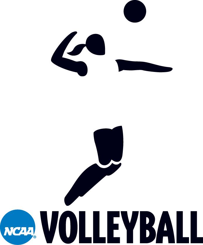 National Collegiate  Athletic Association Logo Misc Logo (2000-2015) - NCAA Woman Volleyball player silhouette logo SportsLogos.Net