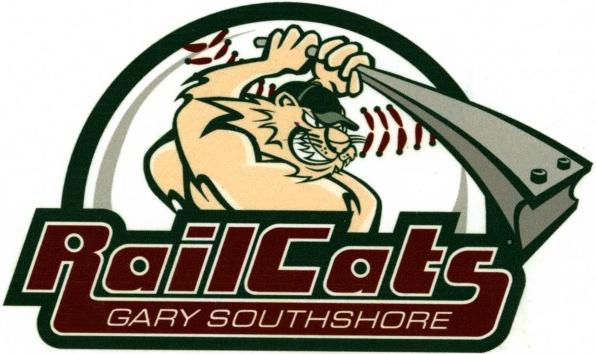 Gary SouthShore RailCats Logo Primary Logo (2002-2006) -  SportsLogos.Net