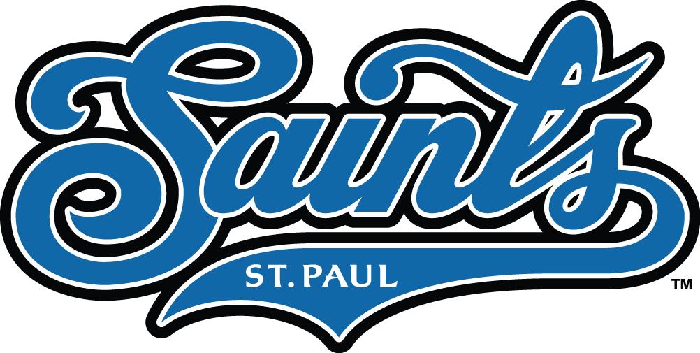 St. Paul Saints Logo Primary Logo (2000-2005) -  SportsLogos.Net