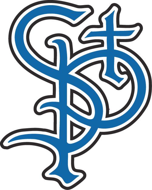 St. Paul Saints Logo Secondary Logo (2000-2005) -  SportsLogos.Net