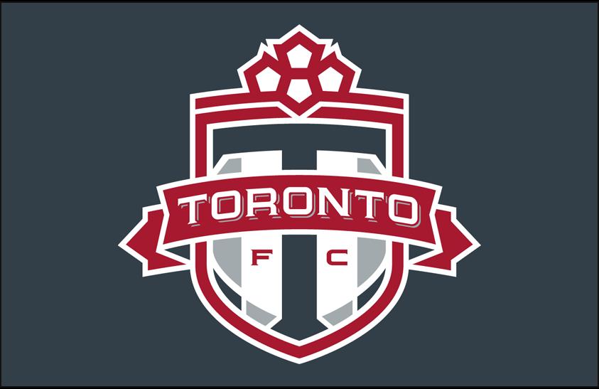 Toronto FC Logo Primary Dark Logo (2010-Pres) - Toronto FC primary logo on grey SportsLogos.Net