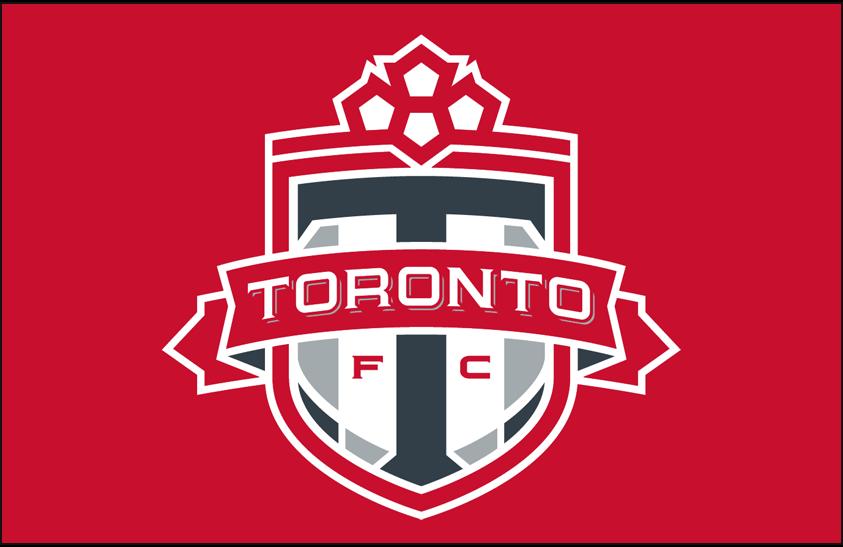 Toronto FC Logo Primary Dark Logo (2007-2009) - Toronto FC primary logo on red SportsLogos.Net