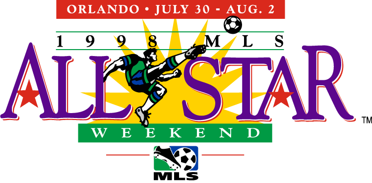 MLS All-Star Game Logo Primary Logo (1998) - 1998 MLS All-Star Game - at the Citrus Bowl in Orlando, Florida ---------------------------------- MLS World All-Stars 1 VS MLS USA All-Stars 6 SportsLogos.Net
