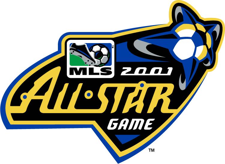 MLS All-Star Game Logo Primary Logo (2001) - 2001 MLS All-Star Game - at Spartan Stadium in San Jose, California ------------- MLS West 6 VS MLS East 6 SportsLogos.Net