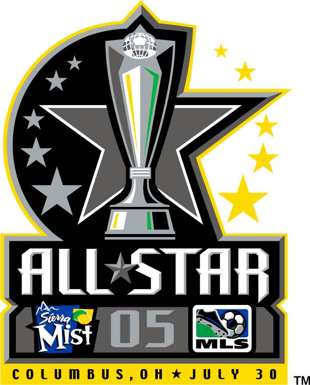 MLS All-Star Game Logo Primary Logo (2005) - 2005 MLS All-Star Game - at Columbus Crew Stadium in Columbus, Ohio ----------------------- MLS All-Stars 4 VS Fulham 1  SportsLogos.Net