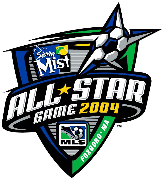 MLS All-Star Game Logo Primary Logo (2004) - 2004 MLS All-Star Game - at RFK Stadium in Washington DC -------------------------------------- MLS West 2 VS MLS East 3 SportsLogos.Net