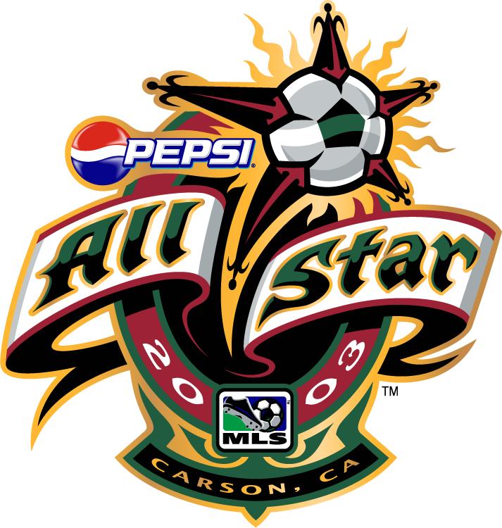 MLS All-Star Game Logo Primary Logo (2003) - 2003 MLS All-Star Game - at The Home Depot Center in Carson, California ---------------------- MLS All Stars 3 VS CD Guadalajara 1 SportsLogos.Net