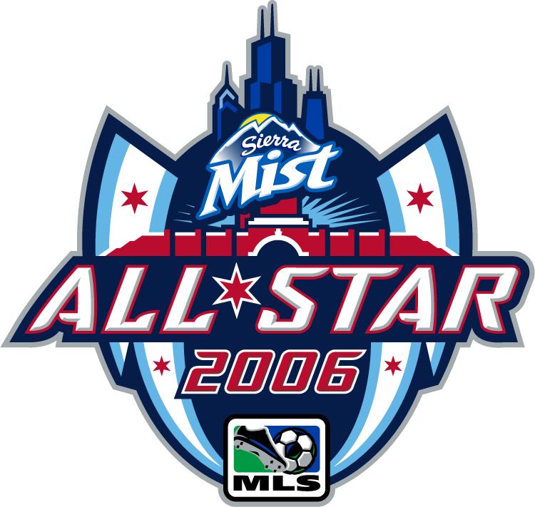 MLS All-Star Game Logo Primary Logo (2006) - 2006 MLS All-Star Game - at Toyota Park, in Bridgeview, Illinois --------------------------------- MLS All-Stars 1 VS Chelsea 0  SportsLogos.Net