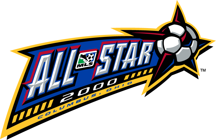 MLS All-Star Game Logo Primary Logo (2000) - 2000 MLS All-Star Game - at Columbus Crew Stadium in Columbus, Ohio ------------------- MLS West 4 VS MLS East 9 SportsLogos.Net