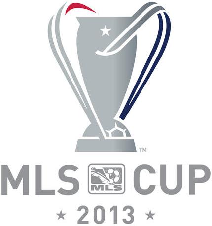 MLS Cup Logo Primary Logo (2013) - MLS Cup 2013 - Held at the Sporting Park, Kansas City, KS. - Sporting Kansas City defeated Real Salt Lake 1-1 (7-6 on penalties) on December 7, 2013. SportsLogos.Net