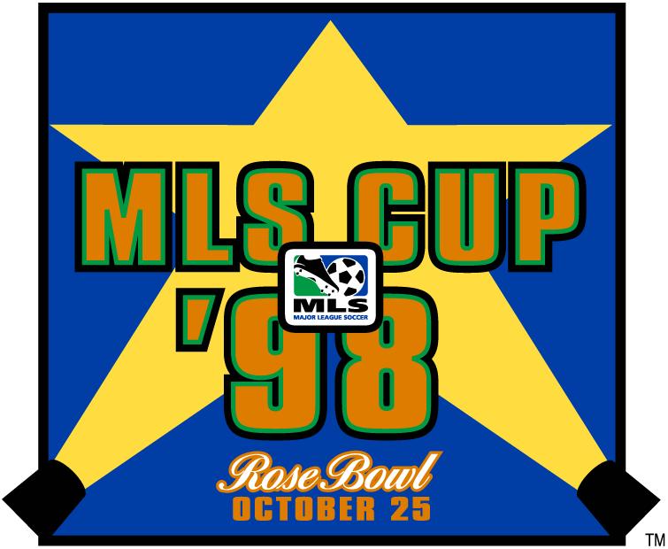 MLS Cup Logo Primary Logo (1998) - Chicago Fire 2 DC United 0 @ Pasadena, CA SportsLogos.Net