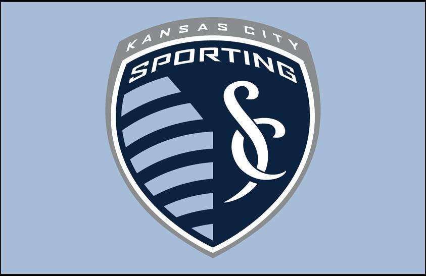 Sporting Kansas City Logo Primary Dark Logo (2011-Pres) - Sporting Kansas City primary logo on light blue SportsLogos.Net