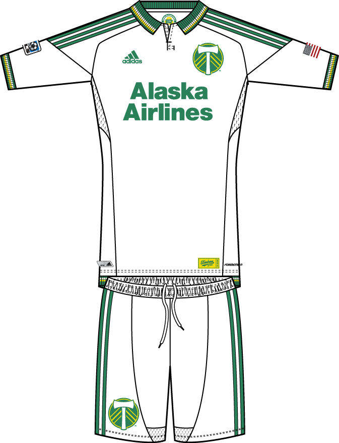Portland  Timbers Uniform Alternate Uniform (2013) -  SportsLogos.Net