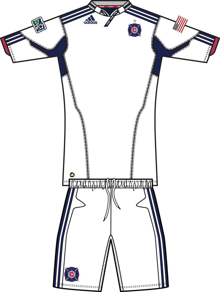 Chicago Fire Uniform Road Uniform (2011) -  SportsLogos.Net