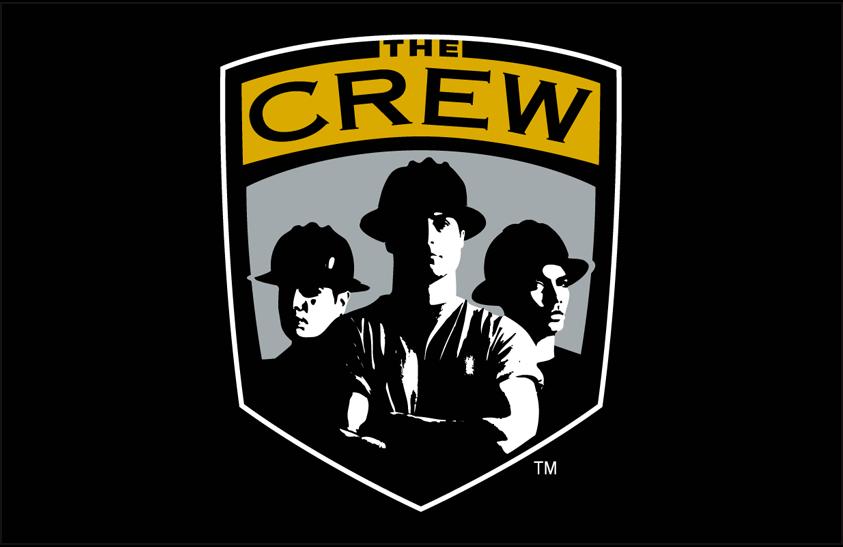 Columbus Crew SC Logo Primary Dark Logo (1996-2014) - Columbus Crew logo on black SportsLogos.Net