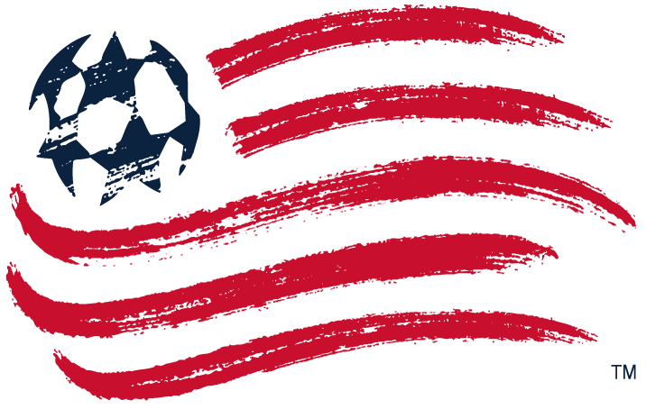 New England Revolution Logo Primary Logo (2009-Pres) - American flag with blue soccer ball stars done with a paintbrush. Team name removed for 2009 season SportsLogos.Net