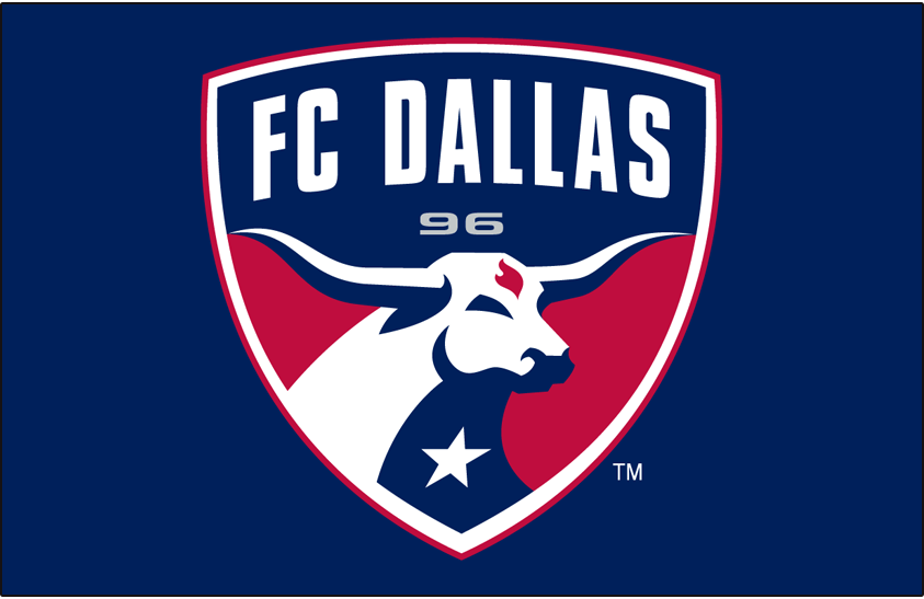 FC Dallas Primary Dark Logo Major League Soccer MLS