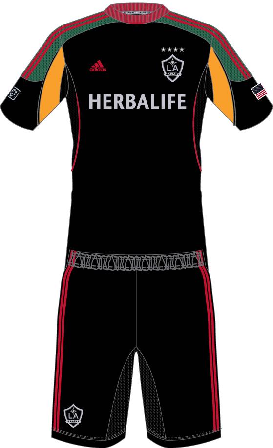 competitive price b02f9 5e226 LA Galaxy Alternate Uniform - Major League Soccer (MLS ...