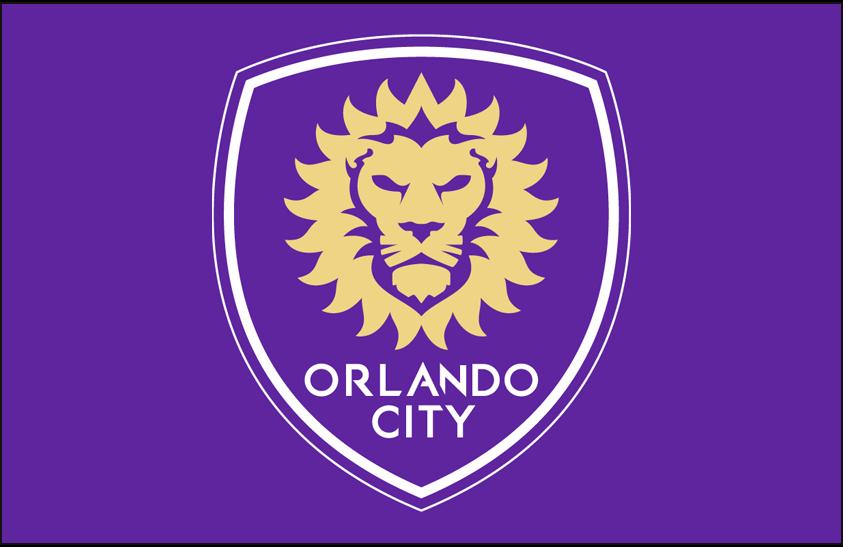Orlando City SC Logo Primary Dark Logo (2015-Pres) - Orlando City SC primary logo on purple SportsLogos.Net