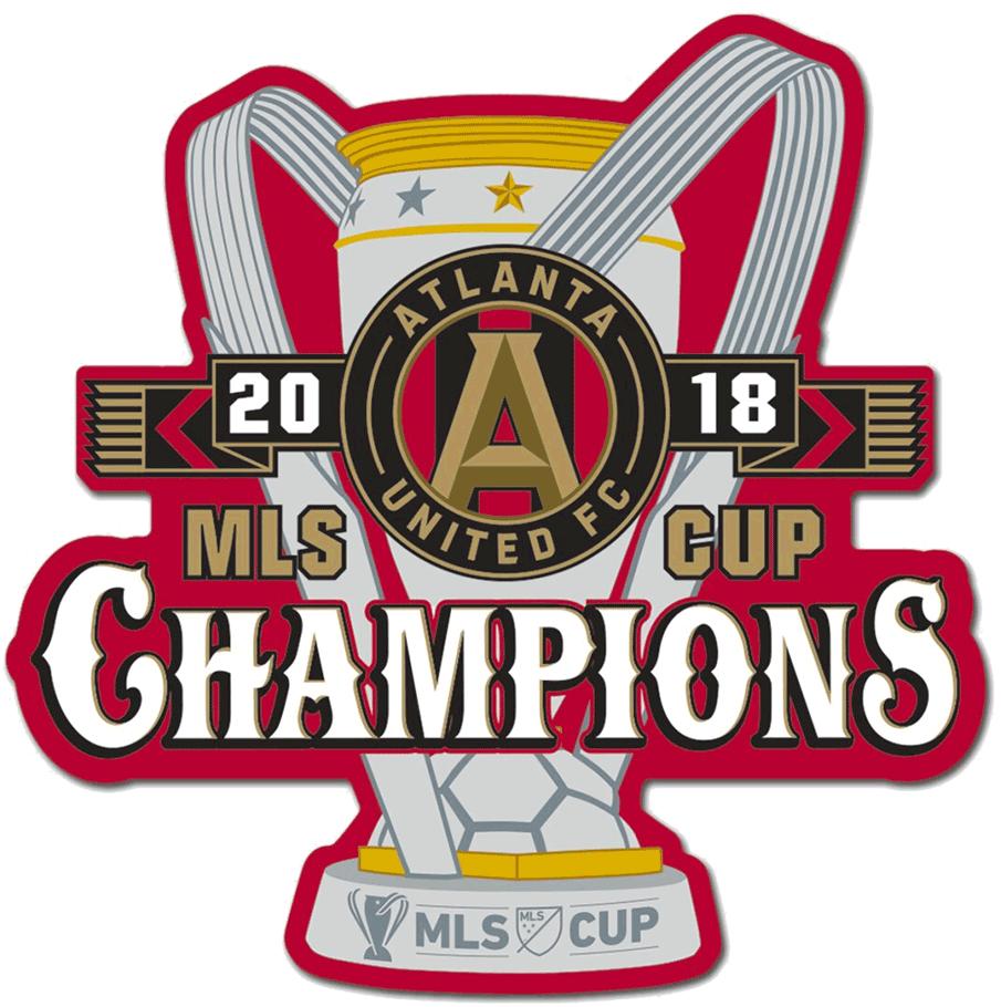 Atlanta United FC Logo Champion Logo (2018) - Atlanta United FC 2018 MLS Cup Champions Logo SportsLogos.Net