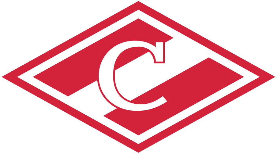 HC Spartak Moscow Logo Primary Logo (2010/11-Pres) - A red and white diamond with a white 'C' in the middle.  Спартак Москва Логос. Красный и белый диамант с белым ' C' в середине. SportsLogos.Net