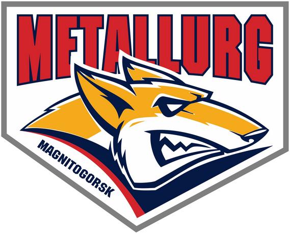 Metallurg Magnitogorsk Logo Alternate Logo (2013/14-2014/15) -  SportsLogos.Net