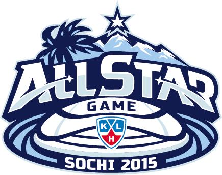 KHL All-Star Game Logo Primary Logo (2014/15) - 2015 KHL All-Star Game logo, game played at the Bolshoy Ice Dome in Sochi, Russia on January 25, 2015 Матч всех звёзд Континентальной хоккейной лиги SportsLogos.Net