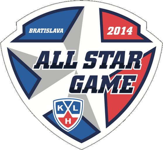 KHL All-Star Game Logo Primary Logo (2013/14) - 2014 KHL All-Star Game logo, game played at the Slovnaft Arena in Bratislava, Slovakia on January 11, 2014 Матч всех звёзд Континентальной хоккейной лиги SportsLogos.Net
