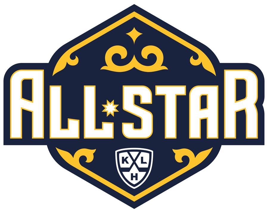 KHL All-Star Game Logo Alternate Logo (2017/18) - Alternate logo for the 2018 KHL All-Star Game played at Barys Arena in Astana, Kazakhstan on January 10, 2018  Матч всех звёзд Континентальной хоккейной лиги SportsLogos.Net