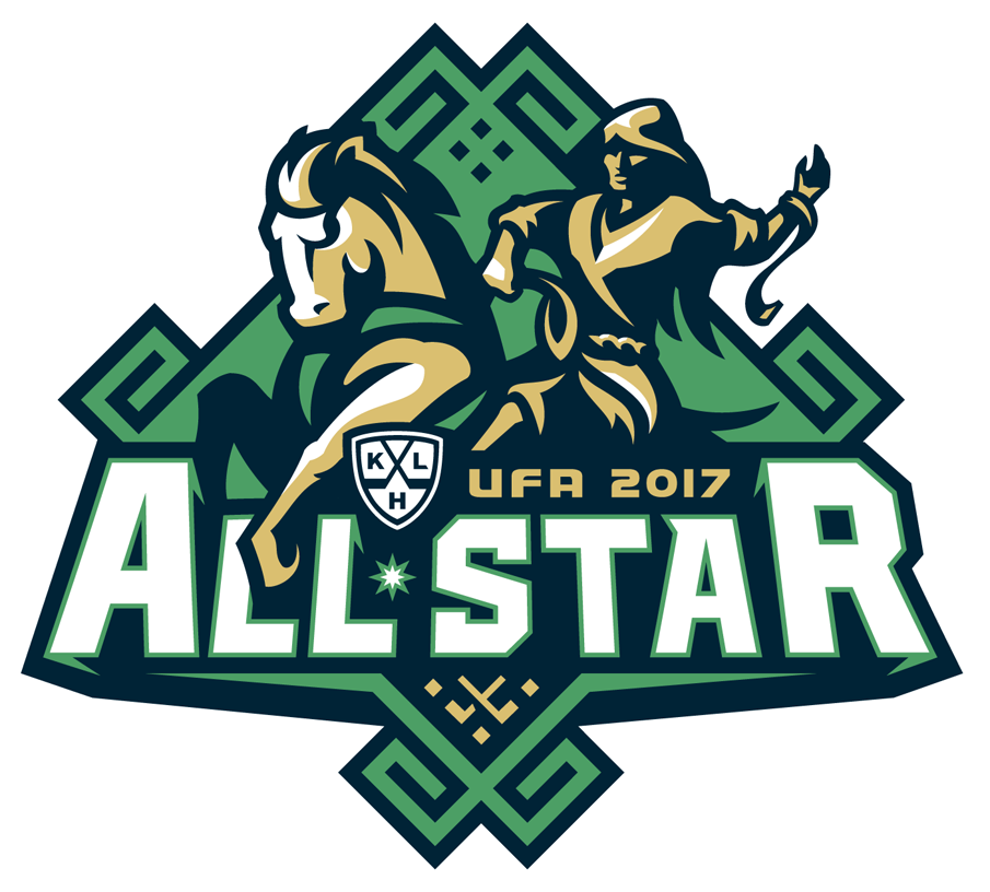 KHL All-Star Game Logo Primary Logo (2016/17) - 2017 KHL All-Star Game logo, game played at the Ufa Arena in Ufa, Russia on January 22, 2017 Матч всех звёзд Континентальной хоккейной лиги SportsLogos.Net