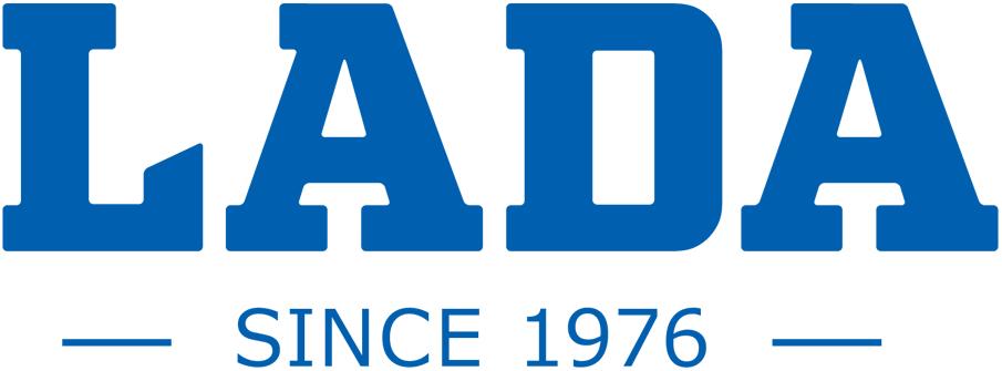 HC Lada Togliatti Logo Wordmark Logo (2017/18-Pres) - LADA in blue above SINCE 1976 SportsLogos.Net