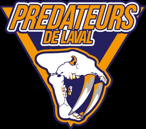 Laval Predators Logo Primary Logo (2014/15-Pres) -  SportsLogos.Net