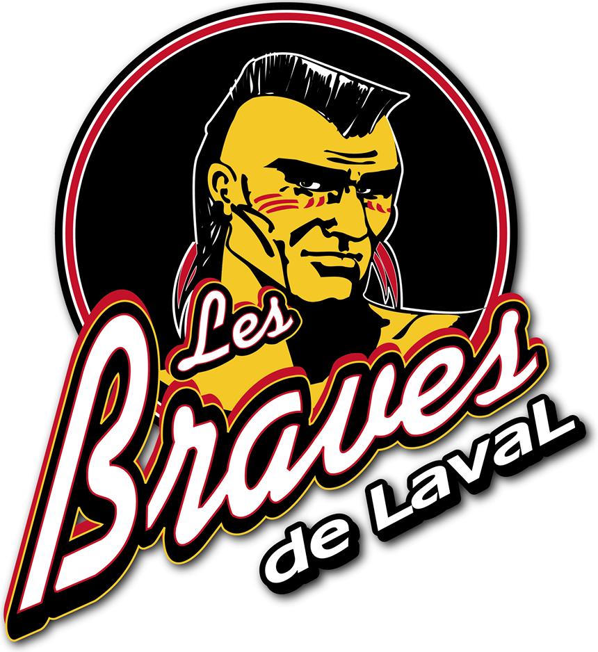 Laval Braves Logo Primary Logo (2013/14) -  SportsLogos.Net