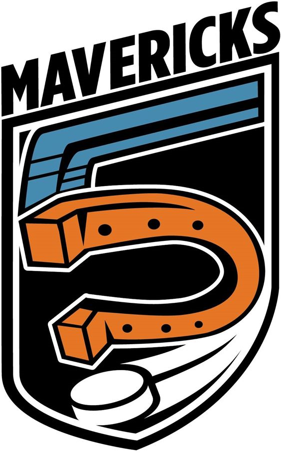 Missouri Mavericks Logo Anniversary Logo (2013/14) - Mavericks Season 5 logo - 5th Anniversary logo SportsLogos.Net