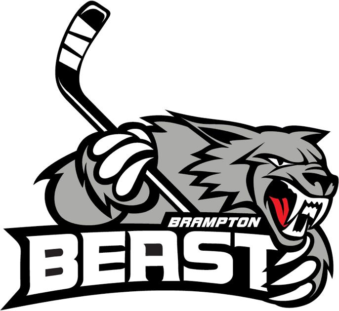 Brampton Beast Logo Primary Logo (2013/14) -  SportsLogos.Net
