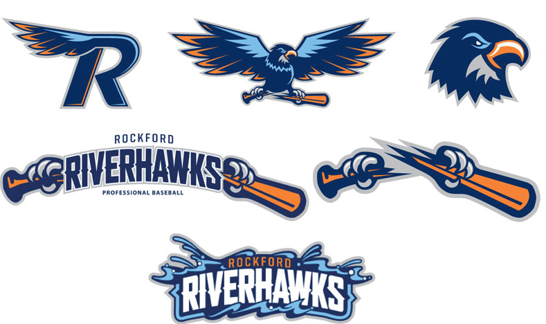 uk availability ebfed 38be4 Rockford RiverHawks secondary logos 2012