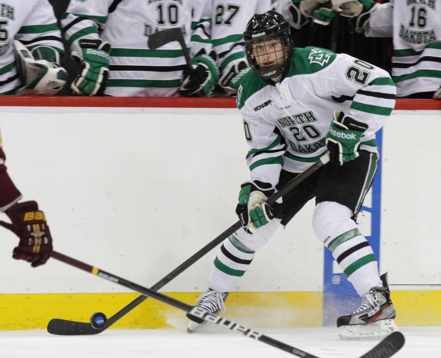 UND Fighting Sioux hockey uniforms 2012