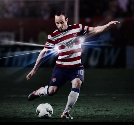 New USA Soccer Jersey 2012