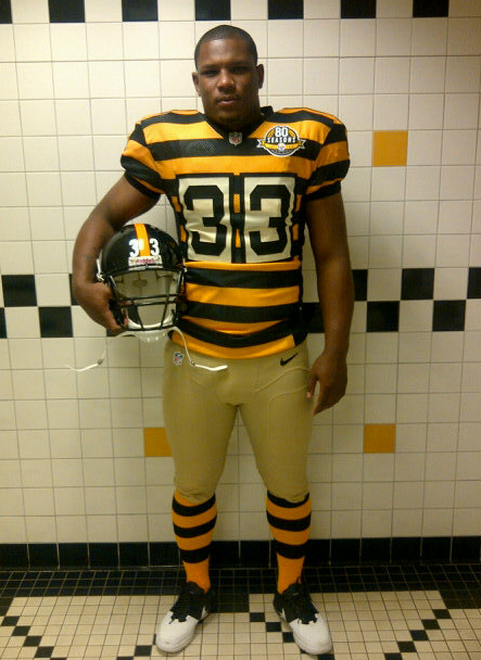 timeless design f6612 b71f1 Pittsburgh Steelers 80th anniversary throwback jersey 2012 ...