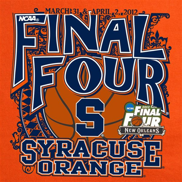 Syracuse Orange 2012 Final Four Chris Creamer S Sportslogos Net