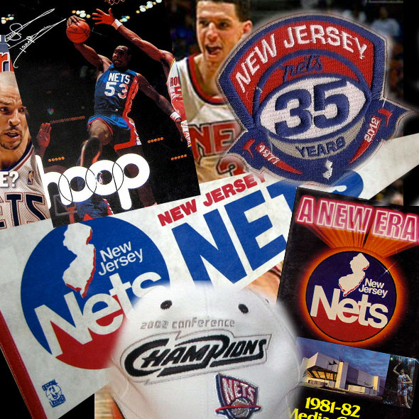 Farewell New Jersey Nets; a Look Back at their Brands