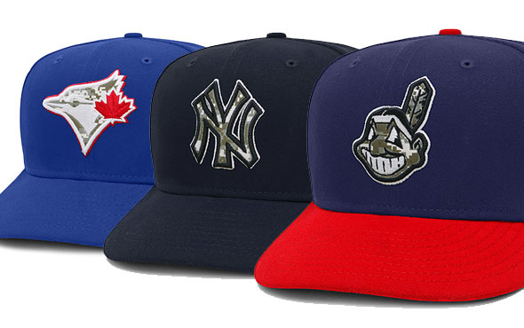 Camo Caps to be worn by all MLB Teams, Full Gallery Here