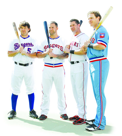 Texas Rangers 2012 Throwback Uniforms