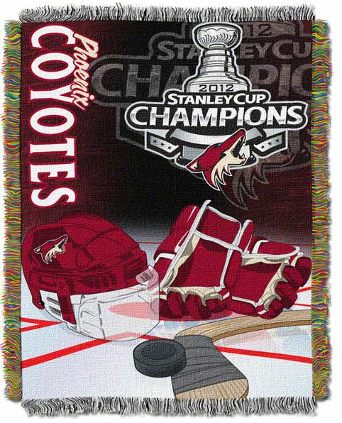Phoenix Coyotes 2012 Stanley Cup Champions blanket