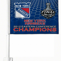 New York Rangers 2012 Eastern Conference Champions car flag