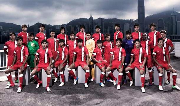 Hong Kong Football unveils new Nike Uniforms