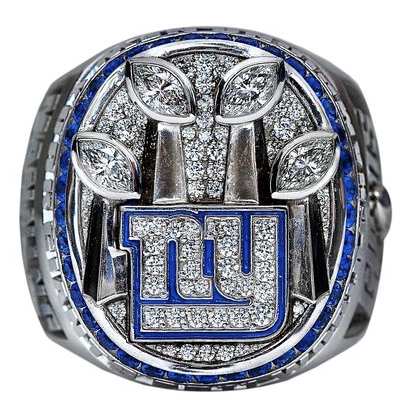 NY Giants Super Bowl XLVI Championship Ring